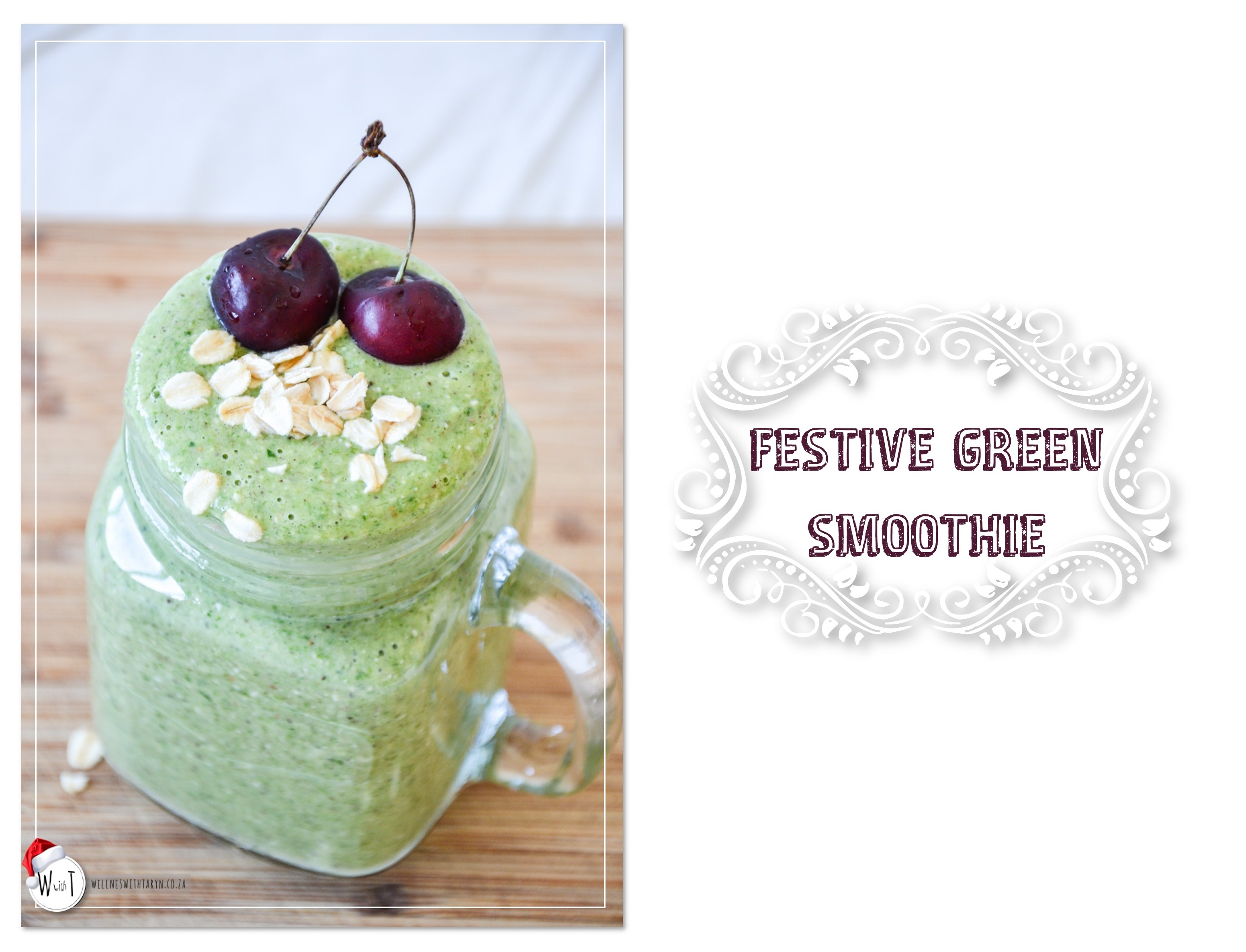 Festive Green Smoothie1