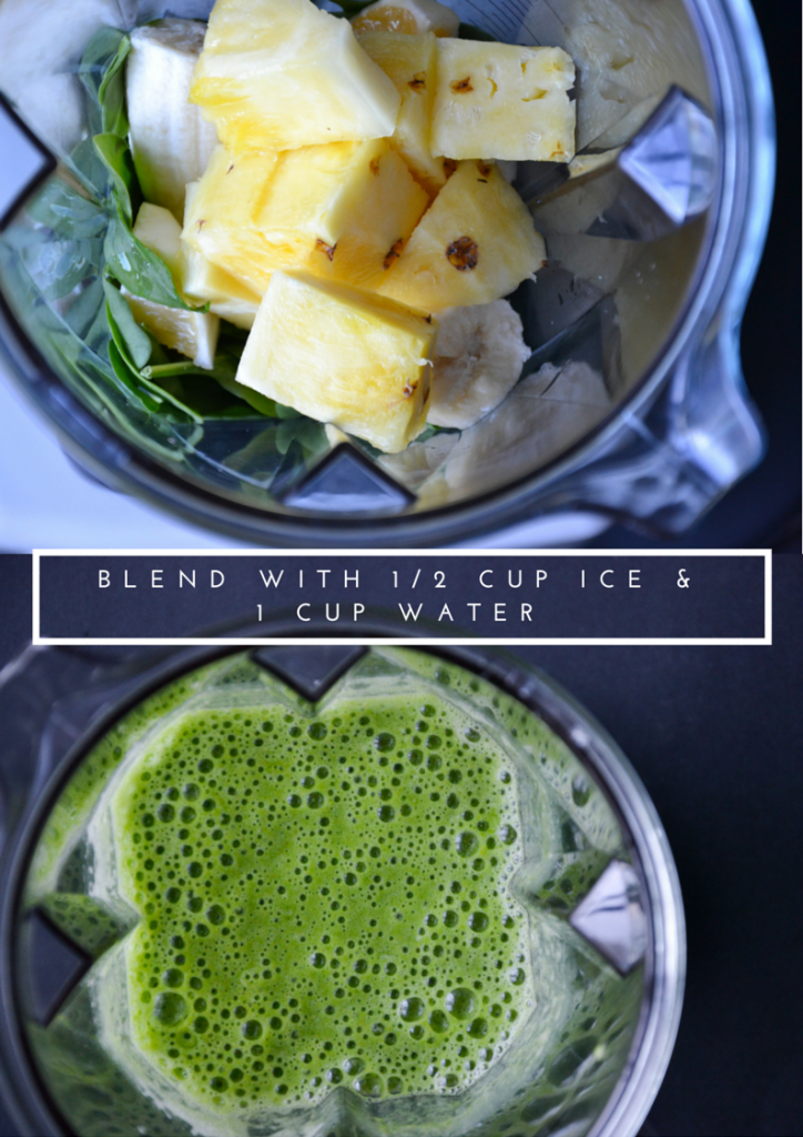 beginners green smoothie 2