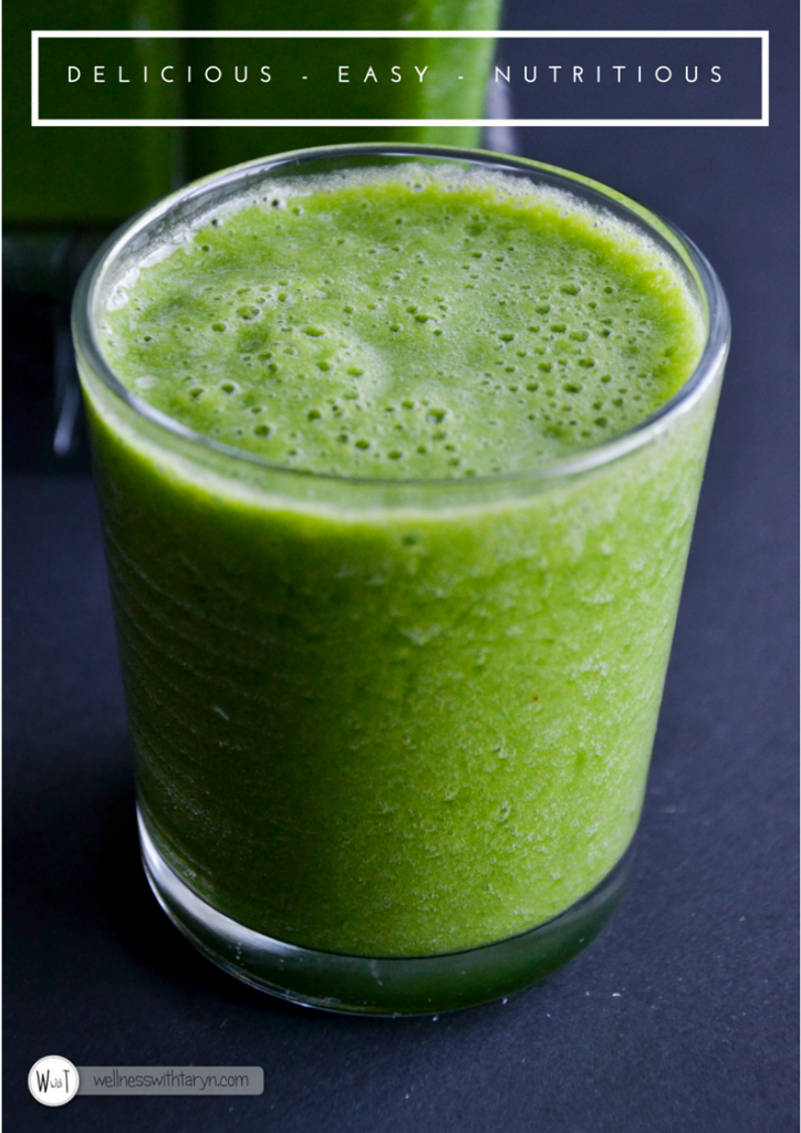 beginners green smoothie 4