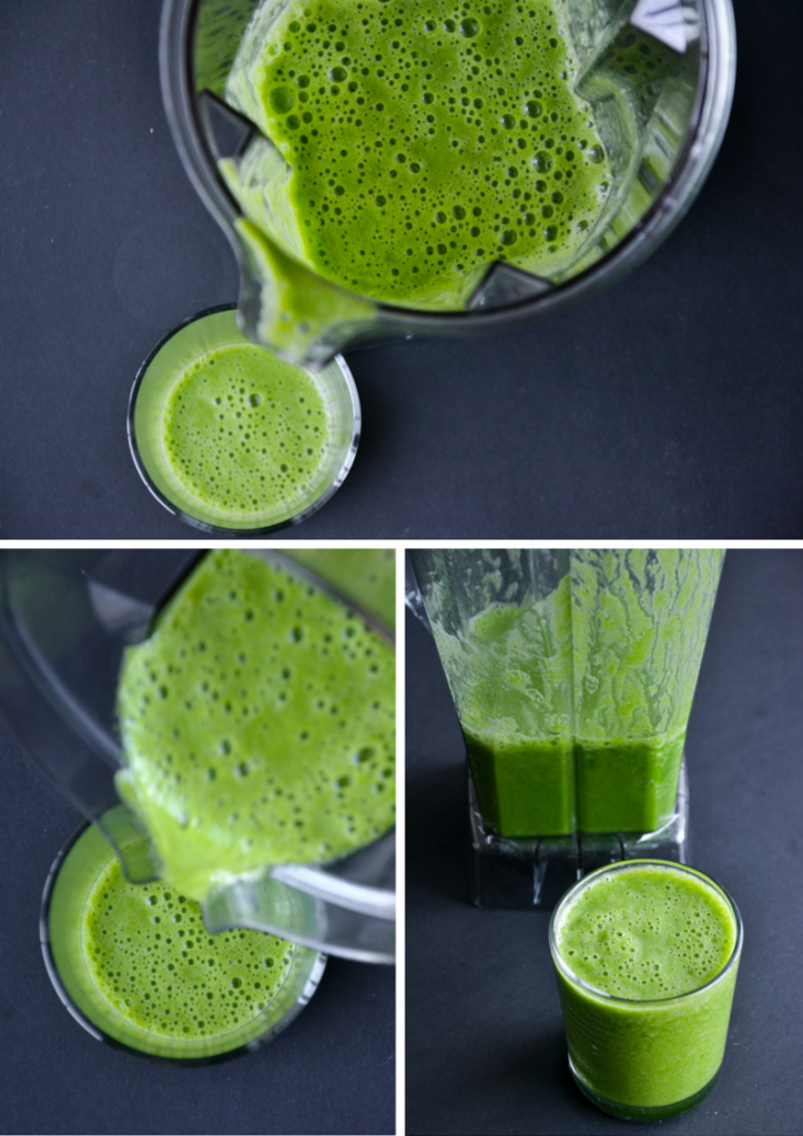 beginners green smoothie 3