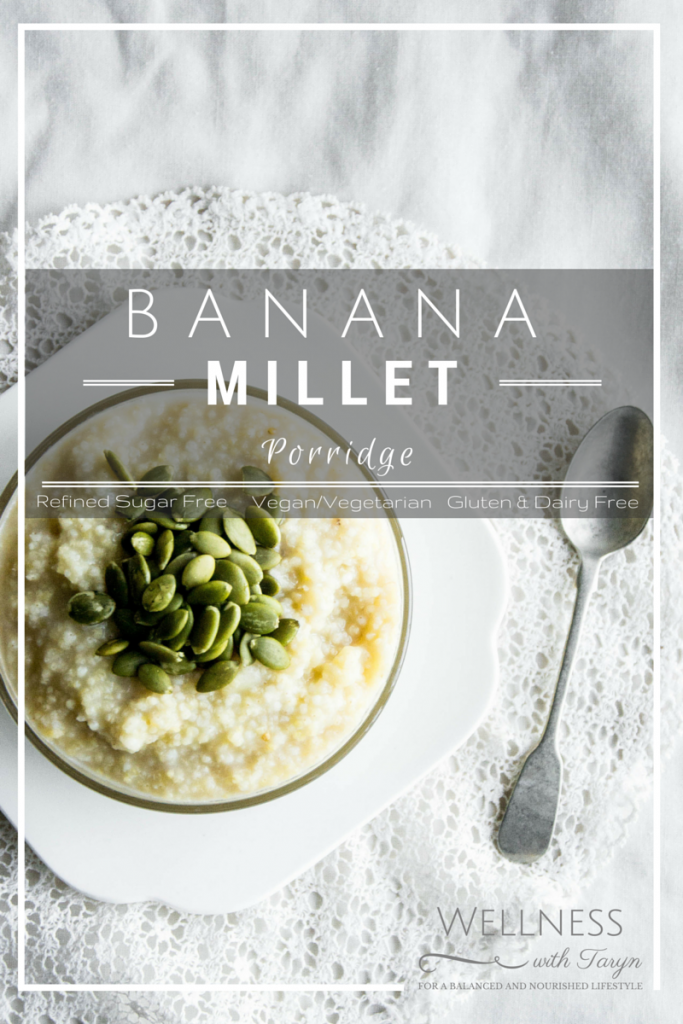 Vegan Banana Millet Porridge Recipe.8