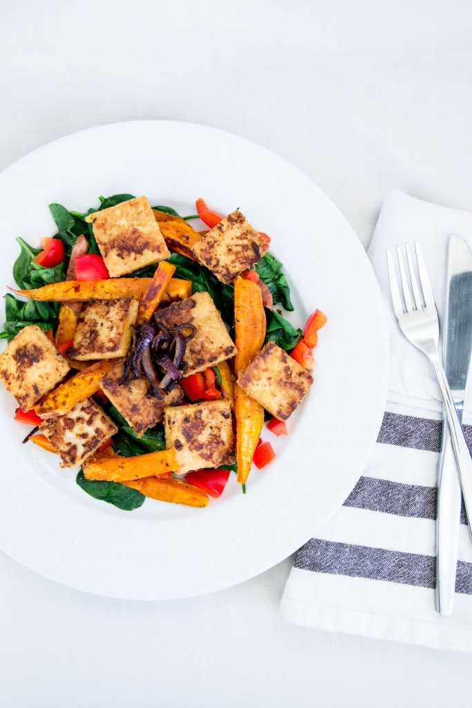 Marinated Tempeh Salad-2