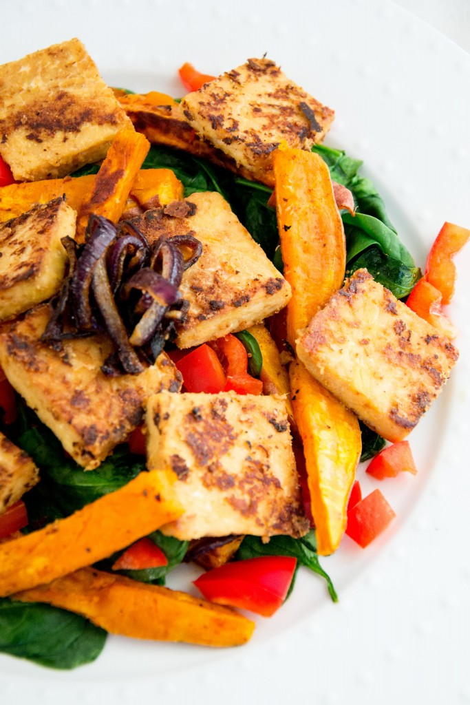 Marinated Tempeh Salad-22