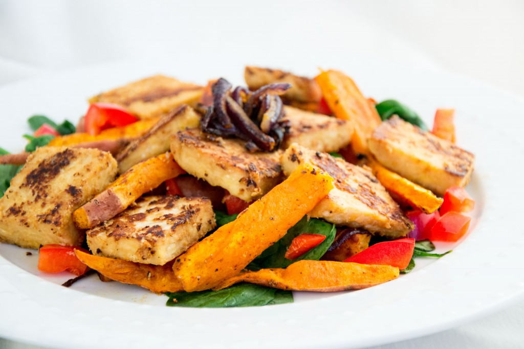Marinated Tempeh Salad-24