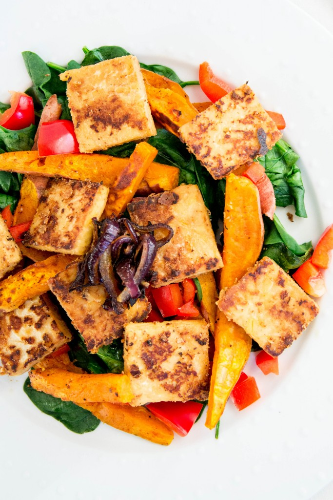Marinated Tempeh Salad-32