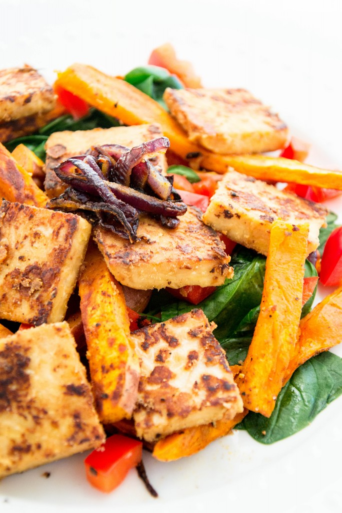 Marinated Tempeh Salad-37