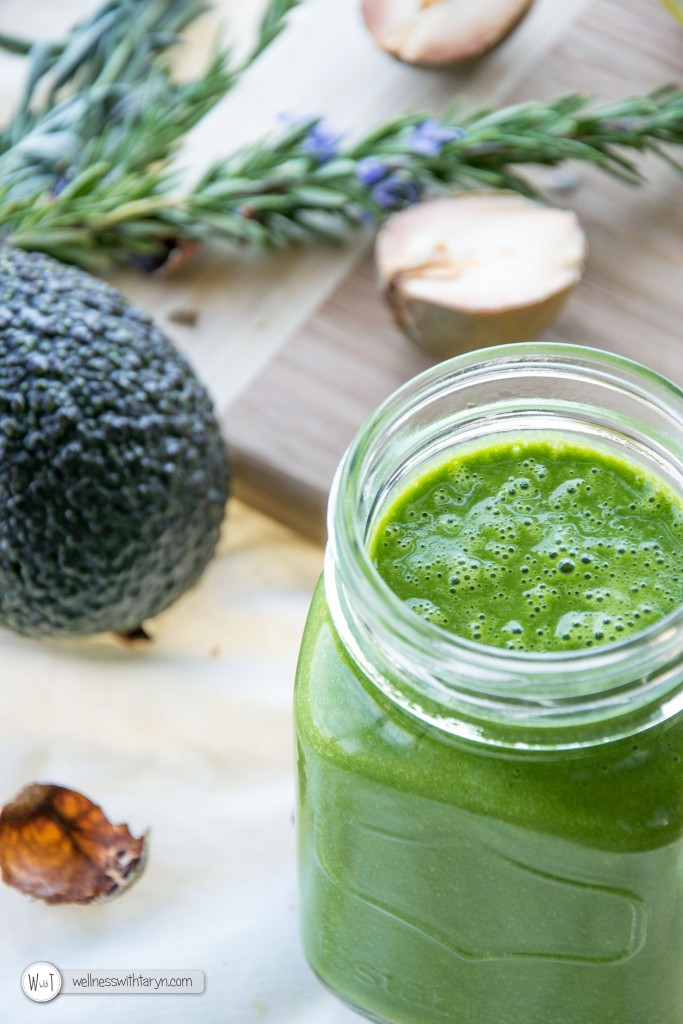 Super Antioxidant Avocado Seed Green Smoothie-53