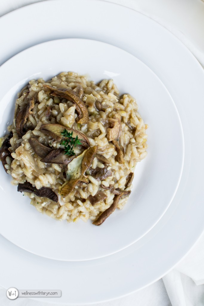 Wild Mushroom and Leek Risotto (26 of 67)