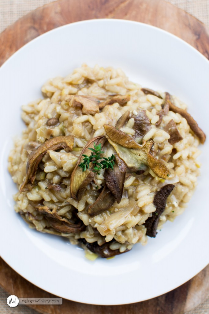 Wild Mushroom and Leek Risotto (42 of 67)