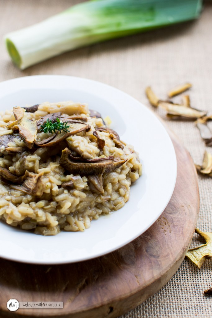 Wild Mushroom and Leek Risotto (61 of 67)