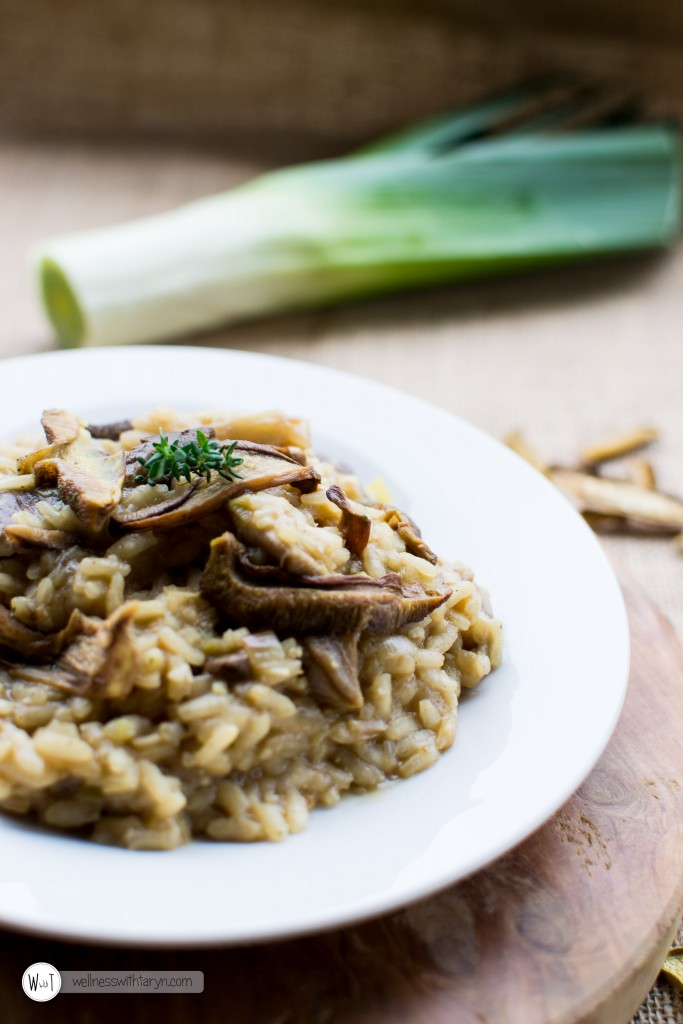 Wild Mushroom and Leek Risotto (67 of 67)