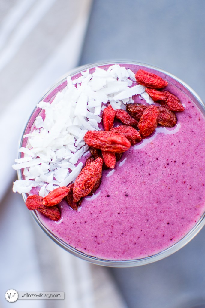 Mixed Berry Protein Smoothie-19
