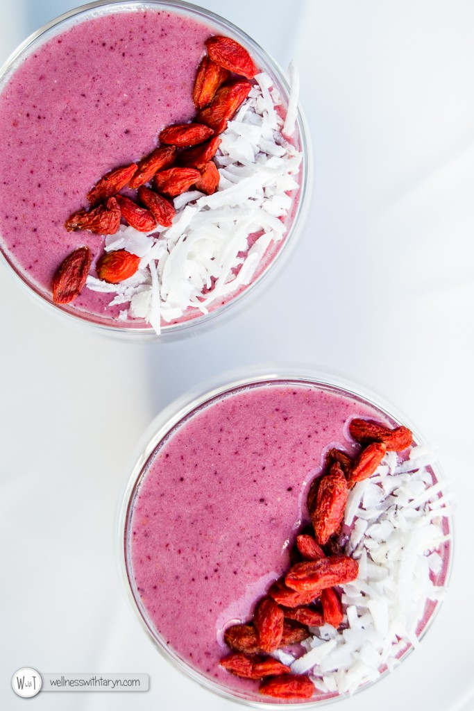 Mixed Berry Protein Smoothie-23