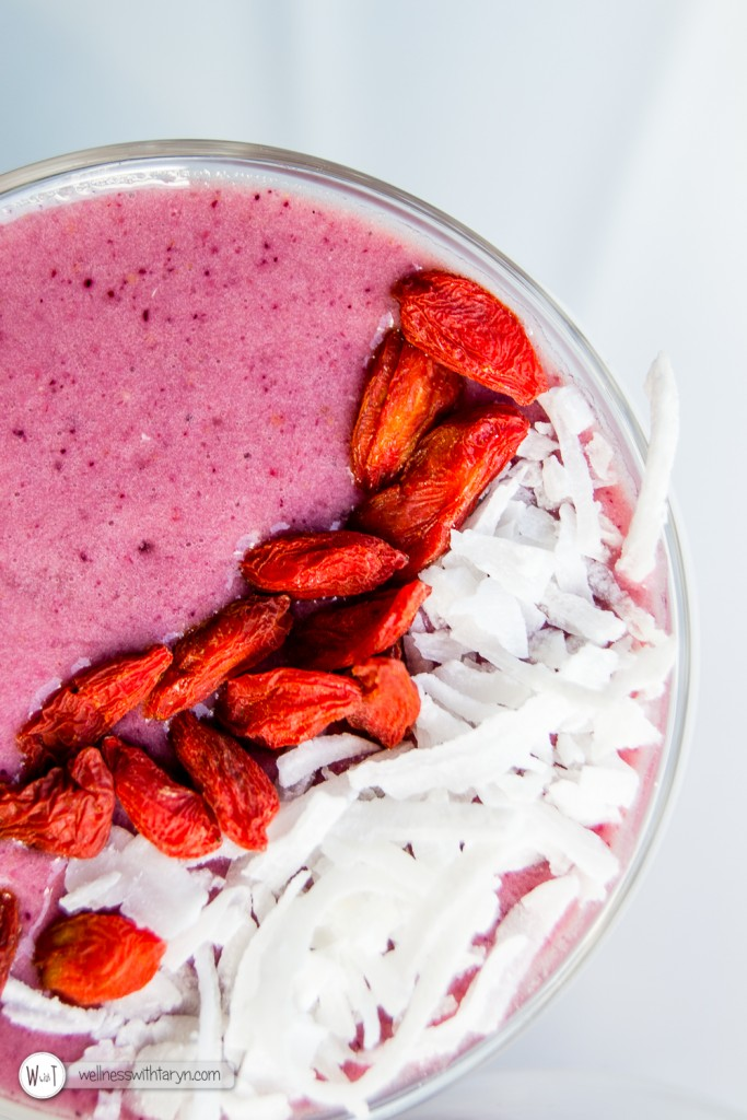 Mixed Berry Protein Smoothie-26