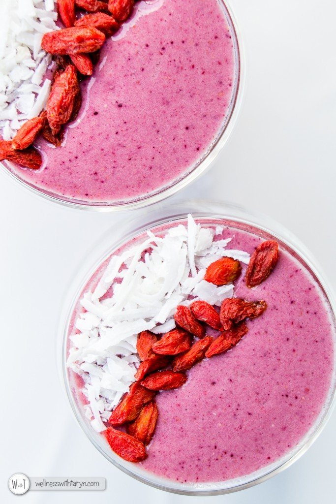 Mixed Berry Protein Smoothie-31