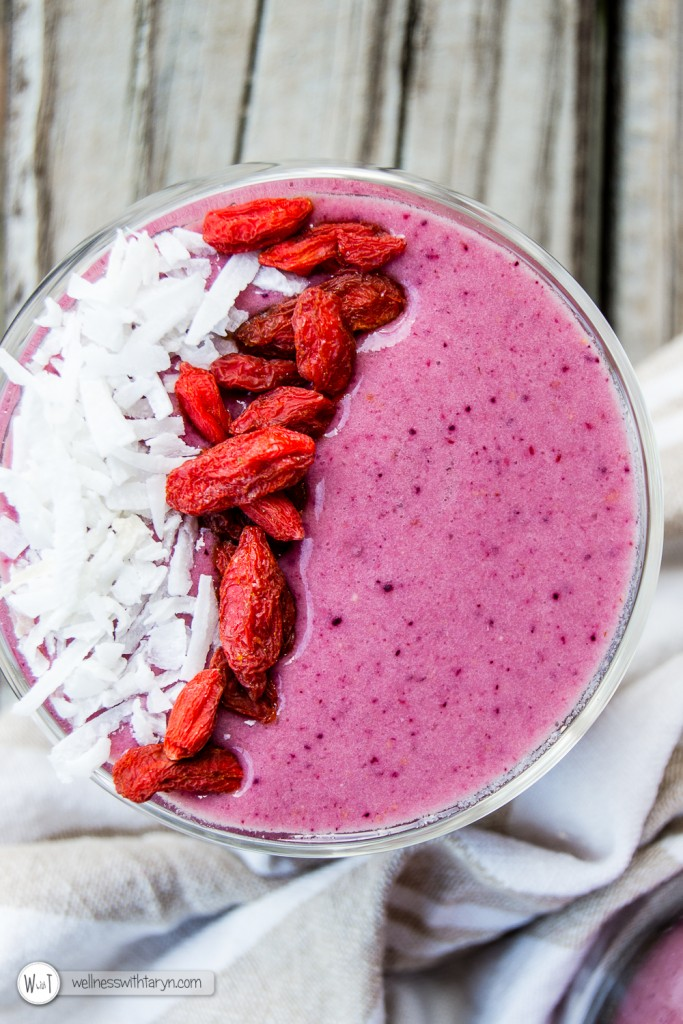 Mixed Berry Protein Smoothie-35