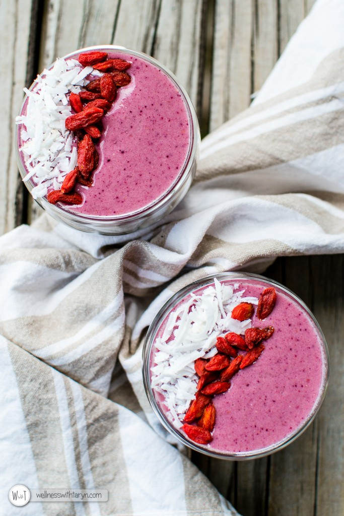 Mixed Berry Protein Smoothie-50