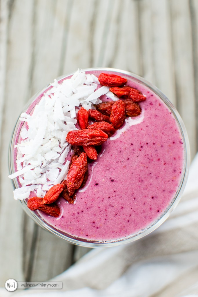 Mixed Berry Protein Smoothie-53
