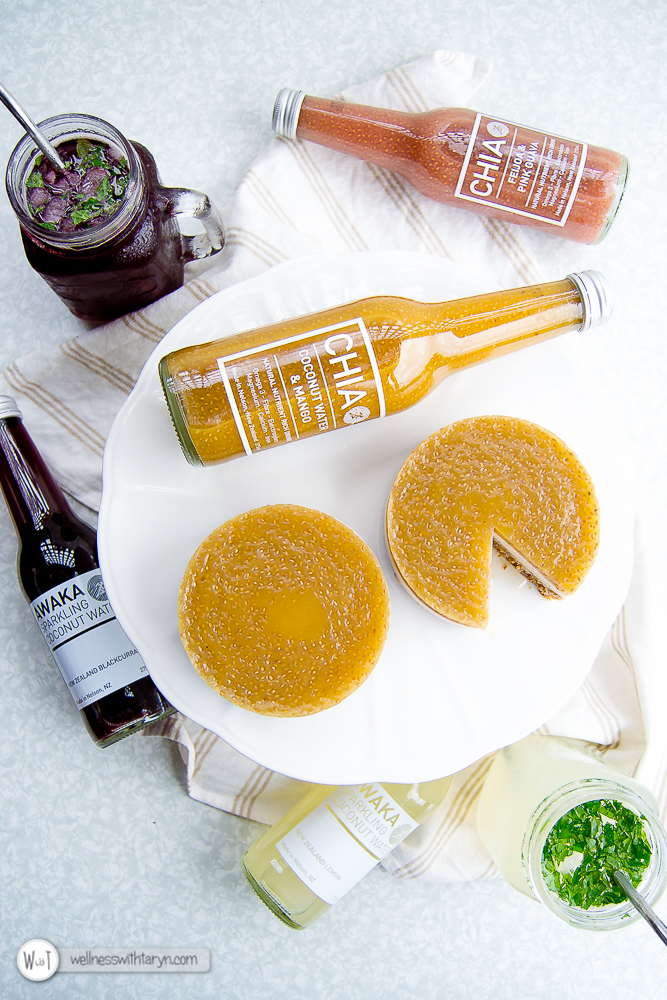 Mango Coconut CHIA Tarts and Summer Mocktails-111
