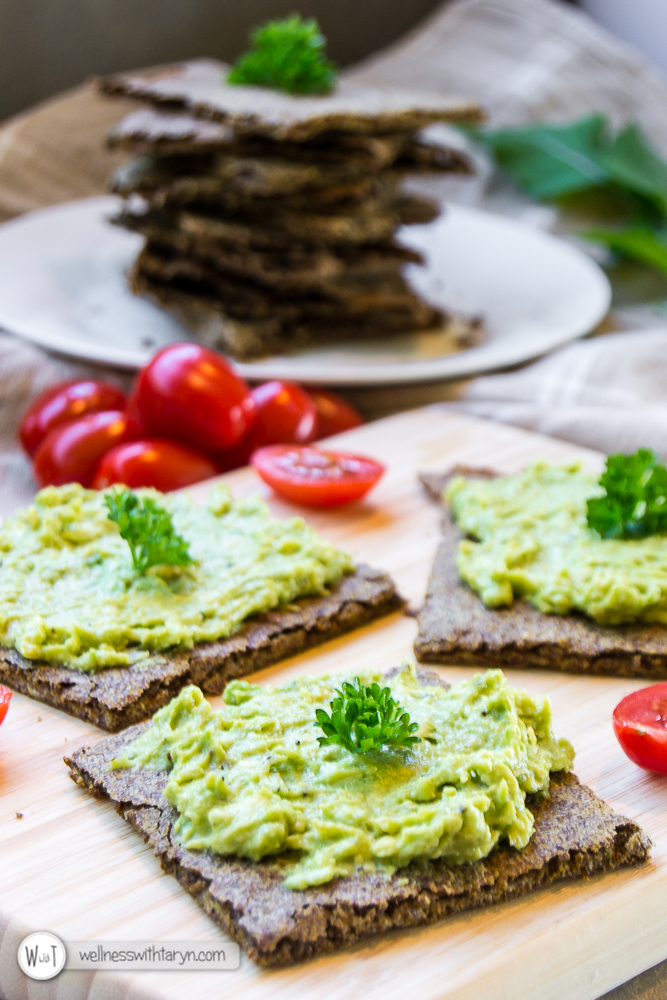 Savory Flax Crackers-1