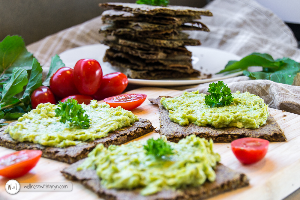 Savory Flax Crackers-19