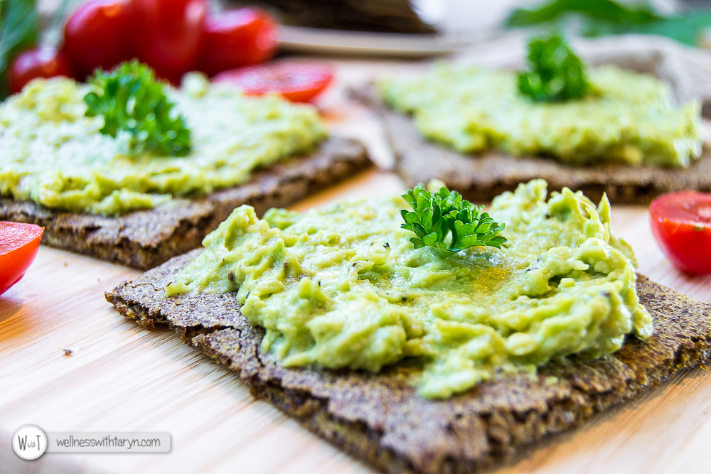 Savory Flax Crackers-24