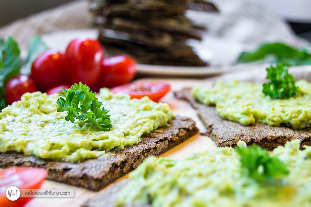 Savory Flax Crackers-26