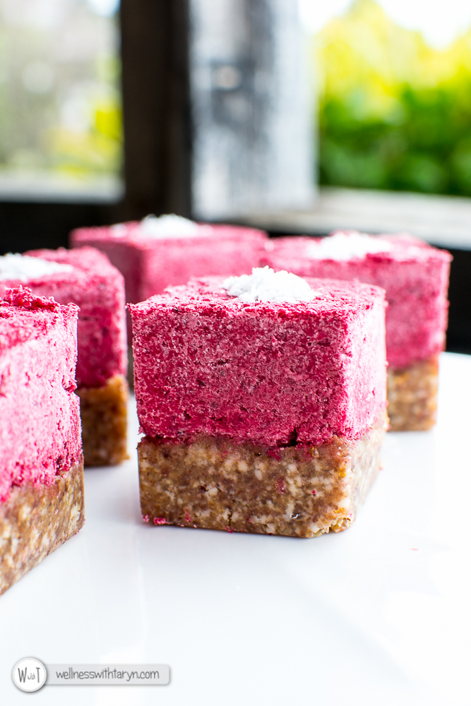 Beetroot Coconut Ice-30