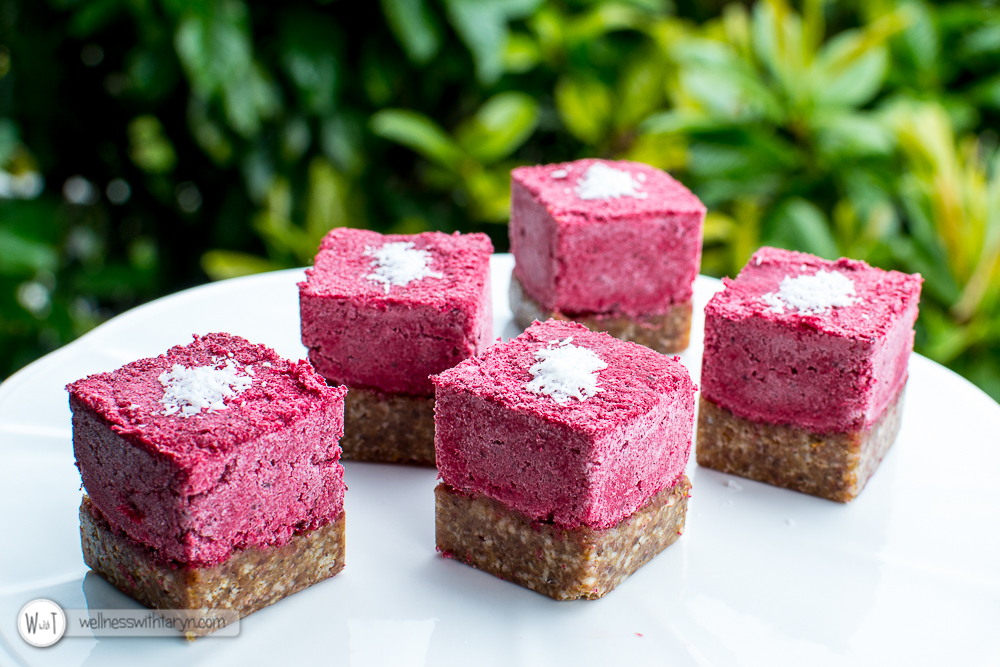 Beetroot Coconut Ice-50
