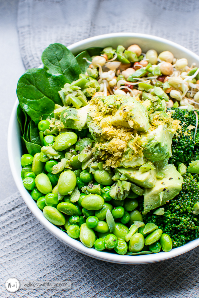 Green Goddess Vegan Bowl-13