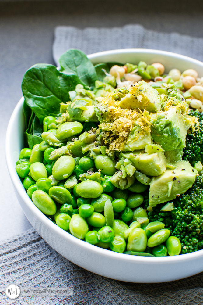 Green Goddess Vegan Bowl-17