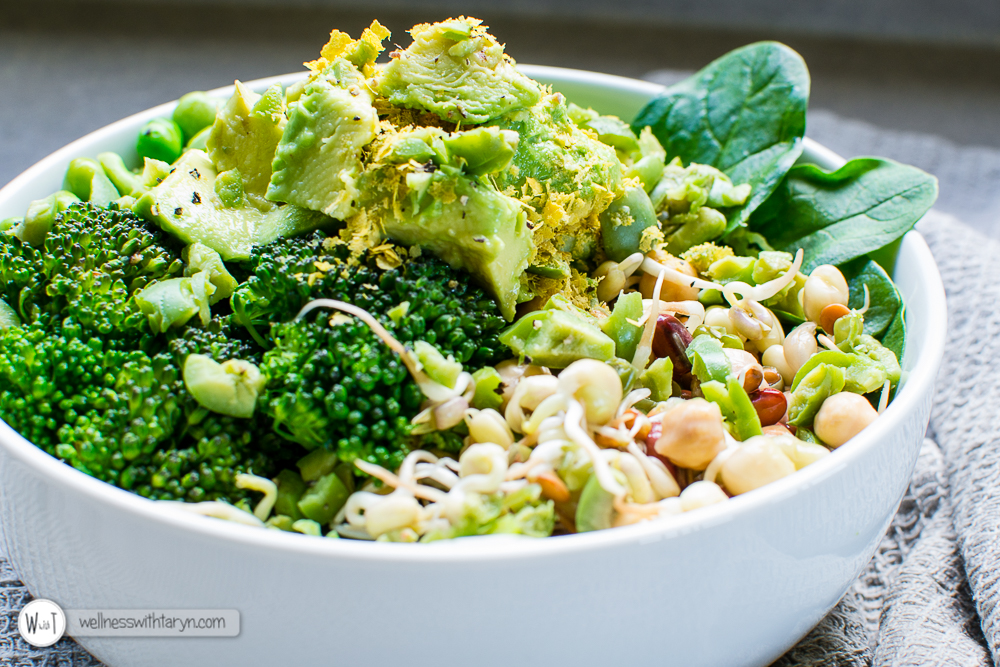 Green Goddess Vegan Bowl-19