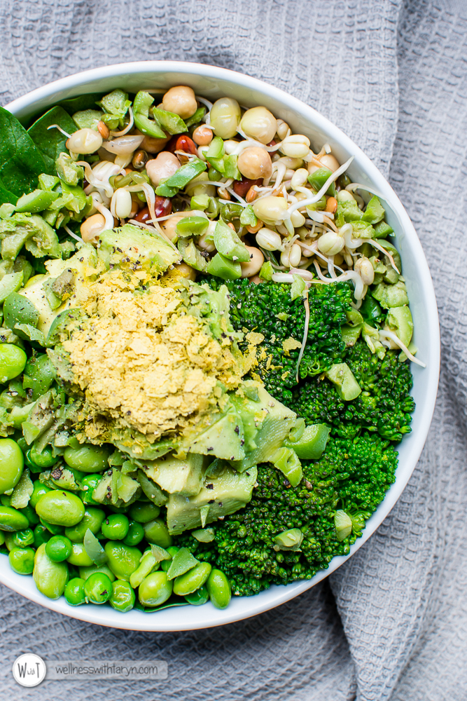 Green Goddess Vegan Bowl-7