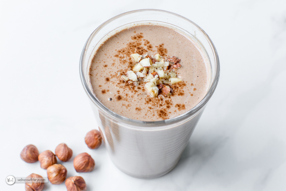 Chocolate Hazelnut Smoothie-26