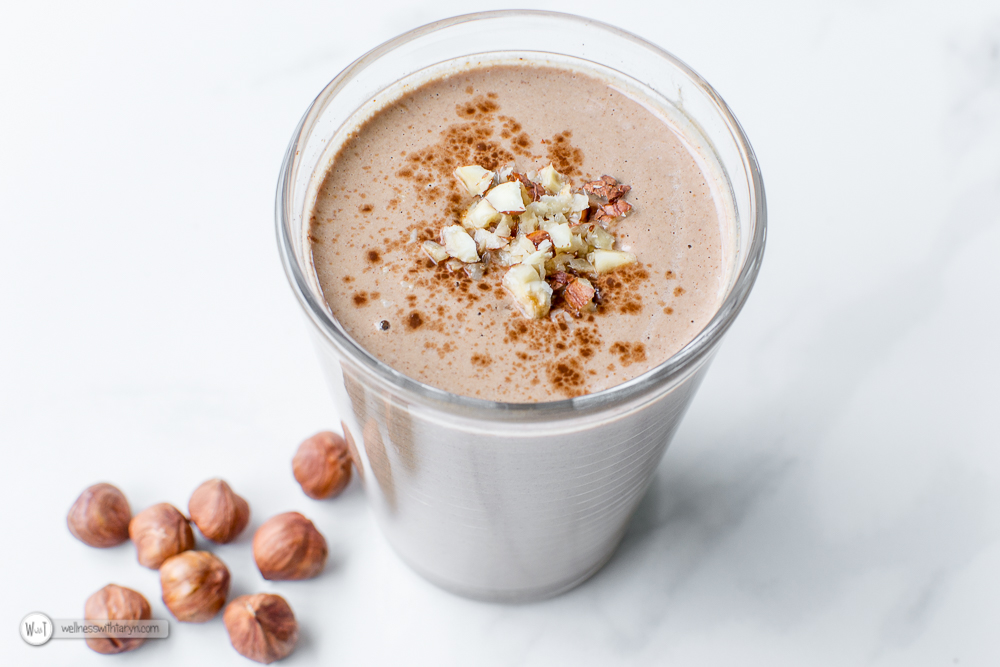Chocolate Hazelnut Smoothie-28