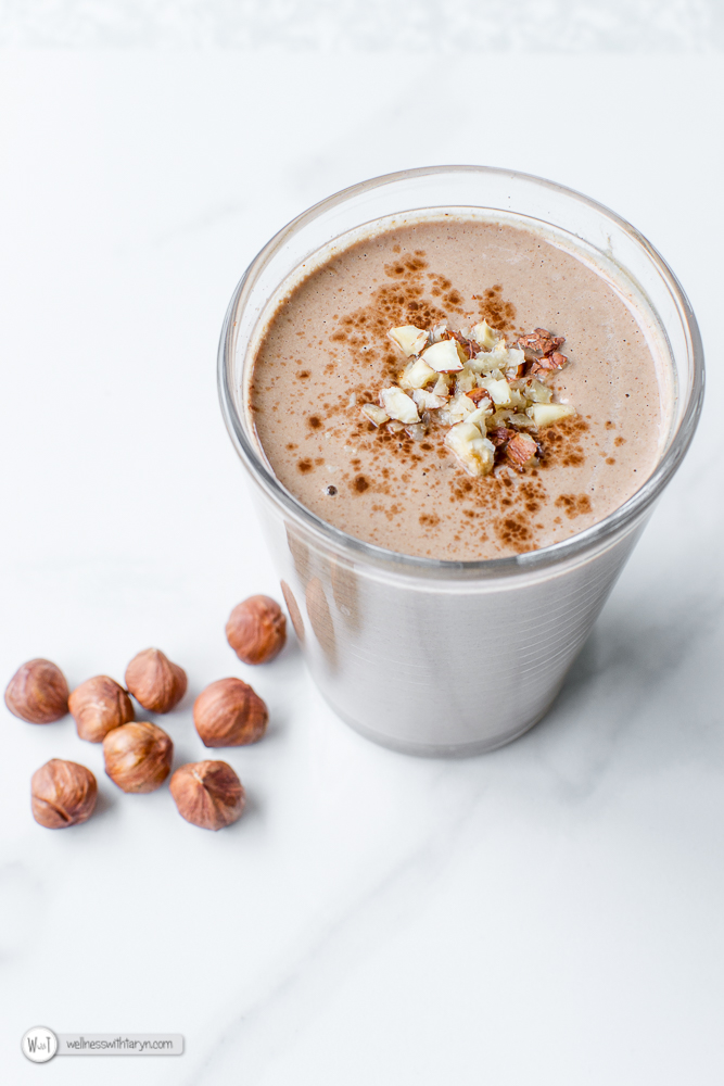 Chocolate Hazelnut Smoothie-29