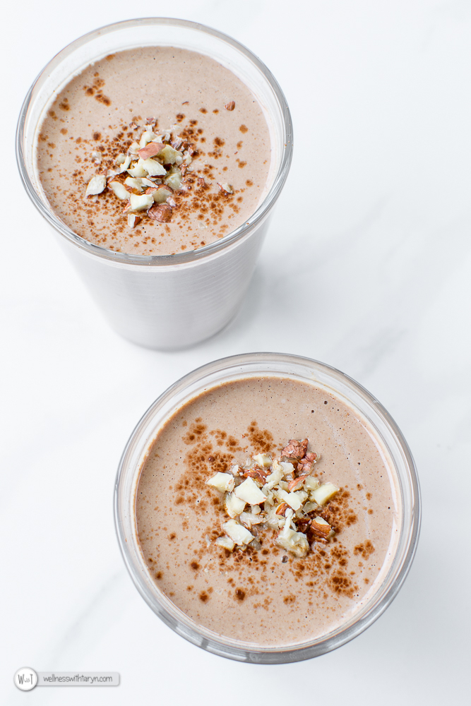 Chocolate Hazelnut Smoothie-4
